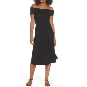 New BB Dakota Lexi Off the Shoulder Knit Dress